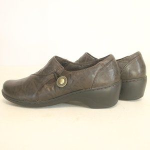 Clarks Women's 8M Loafers Leather Brown